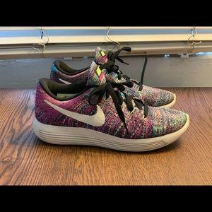 Nike Lunarepic multicolor flyknit (like new)
